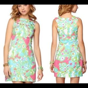 Lilly Pulitzer Pink Delicacy Shift Dress
